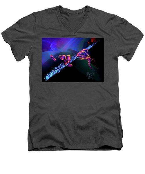 Magic Flute Men's V-Neck T-Shirt