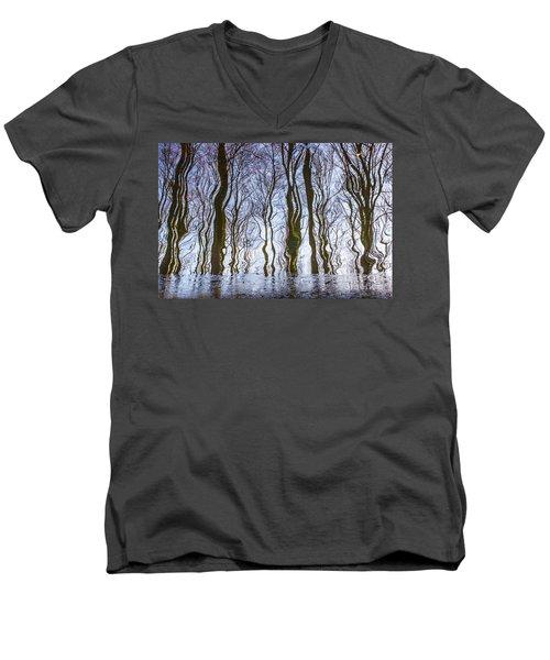 Magic Forest-26 Men's V-Neck T-Shirt
