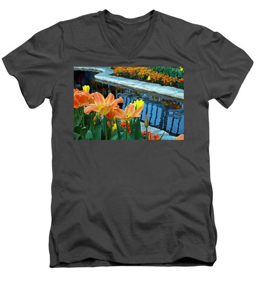 Magic Garden Men's V-Neck T-Shirt