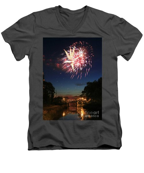Magic In The Sky Men's V-Neck T-Shirt