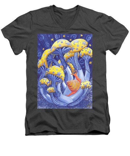 Magic Mushrooms Men's V-Neck T-Shirt