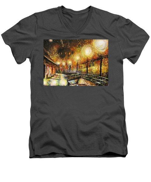 Magic Night Men's V-Neck T-Shirt