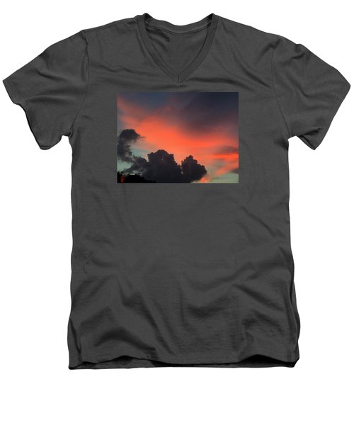 Late Day On Paros Island  Men's V-Neck T-Shirt