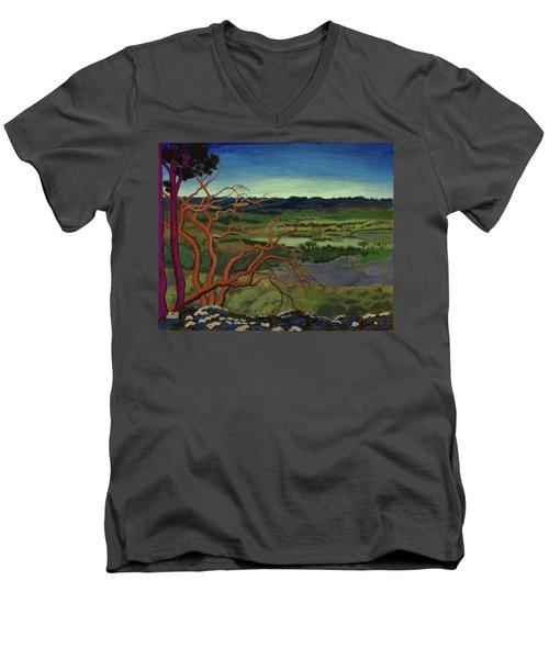 Magic Trees Of Wimberley Men's V-Neck T-Shirt