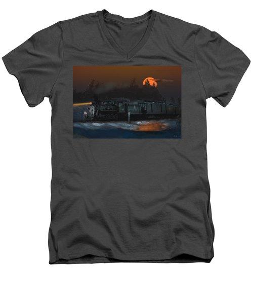 The Last Mile Before Home Men's V-Neck T-Shirt
