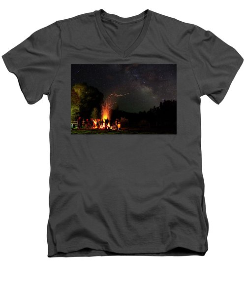 Magical Bonfire Men's V-Neck T-Shirt