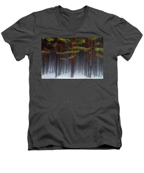 Magical Pines Men's V-Neck T-Shirt