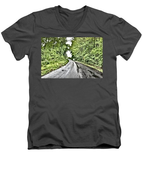 Magical Road Home Men's V-Neck T-Shirt