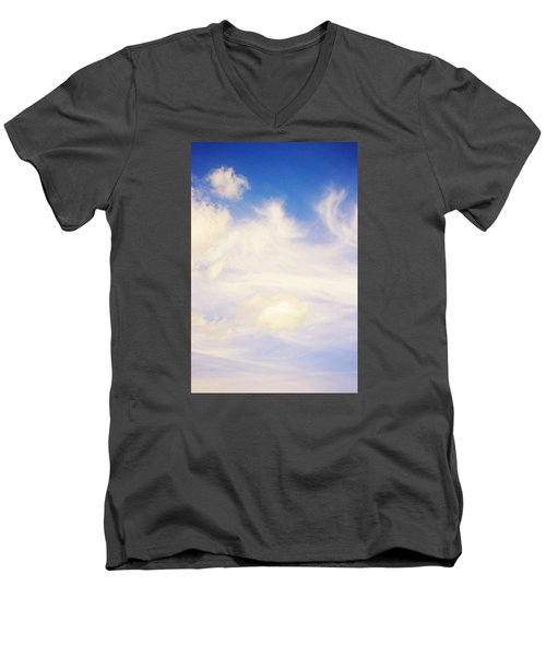 Men's V-Neck T-Shirt featuring the photograph Magical Sky Part 4 by Janie Johnson
