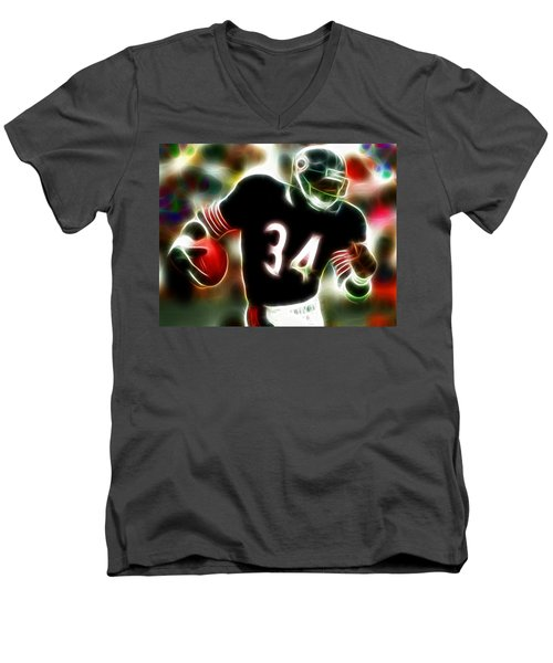 Magical Walter Payton Men's V-Neck T-Shirt