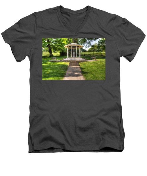 Magna Carta Memorial Men's V-Neck T-Shirt
