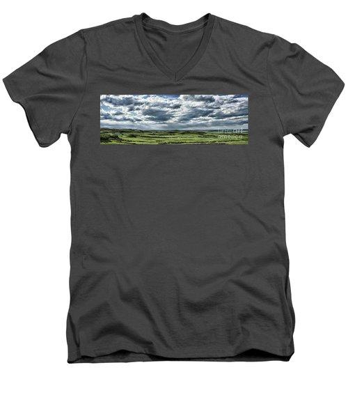 Magnetic View Men's V-Neck T-Shirt