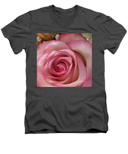 Magnificent Rose Men's V-Neck T-Shirt