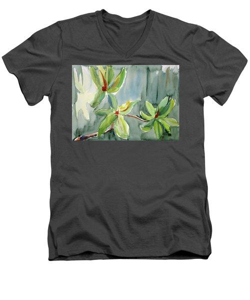 Magnolia Grove4 Men's V-Neck T-Shirt by Tom Simmons