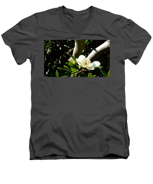 Magnolia Nest Men's V-Neck T-Shirt