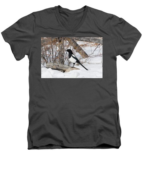 Magpie - 6892 Men's V-Neck T-Shirt