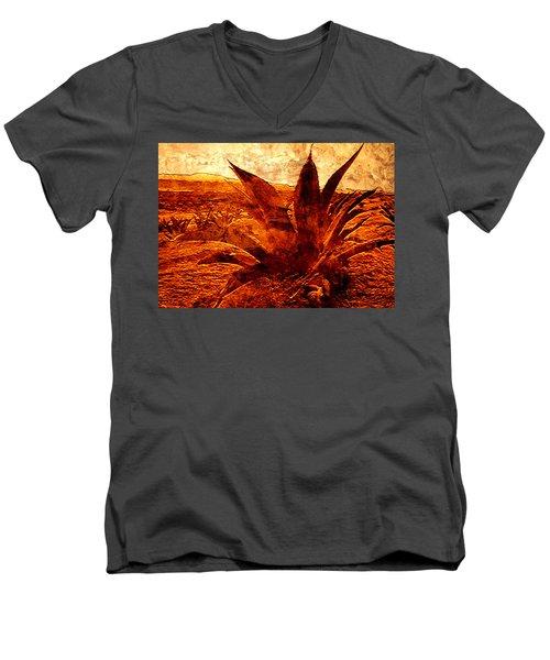G O L D E N   .  A G A V E Men's V-Neck T-Shirt