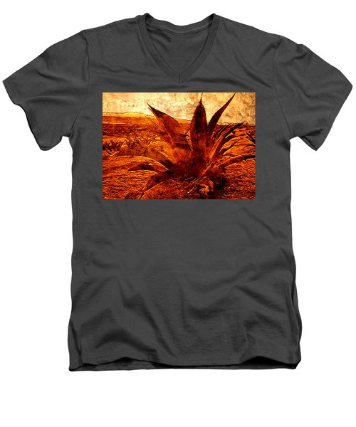 G O L D E N   .  A G A V E Men's V-Neck T-Shirt