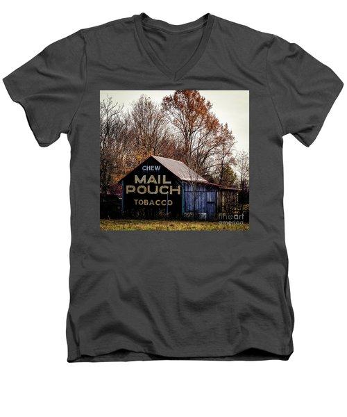 Mail Pouch Barn Men's V-Neck T-Shirt