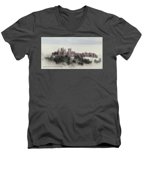 Maine Criminal Justice Academy Men's V-Neck T-Shirt