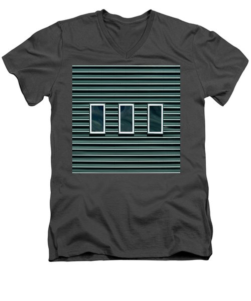 Maine Windows 2 Men's V-Neck T-Shirt