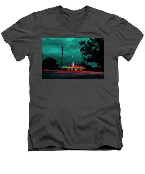 Majestic Cafe Men's V-Neck T-Shirt
