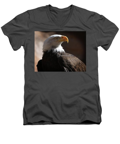 Majestic Eagle Men's V-Neck T-Shirt