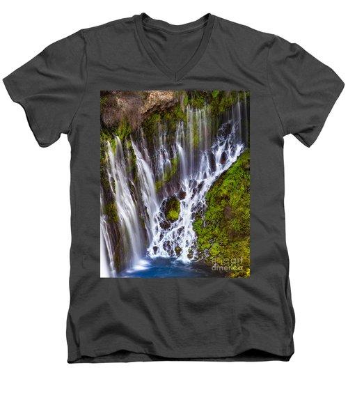 Majestic Falls Men's V-Neck T-Shirt