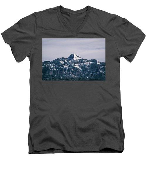 Majestic Morning On Pagosa Peak Men's V-Neck T-Shirt