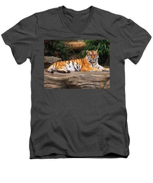 Majestic Men's V-Neck T-Shirt