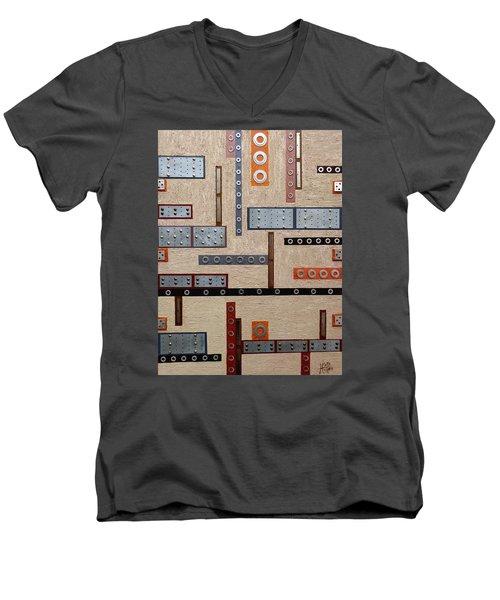 Make Mine Metal Men's V-Neck T-Shirt