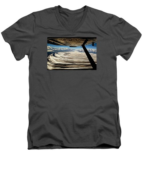 Malaspina Glacier Alaska Men's V-Neck T-Shirt