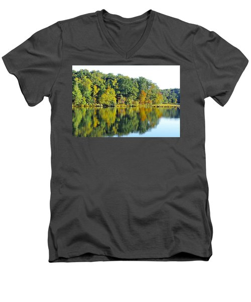 Mallows Bay Men's V-Neck T-Shirt