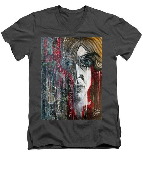 Mama Men's V-Neck T-Shirt