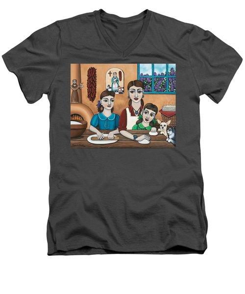 Mamacitas Tortillas Men's V-Neck T-Shirt