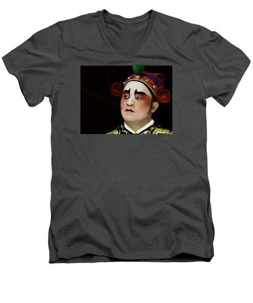 Man Of Colour Men's V-Neck T-Shirt