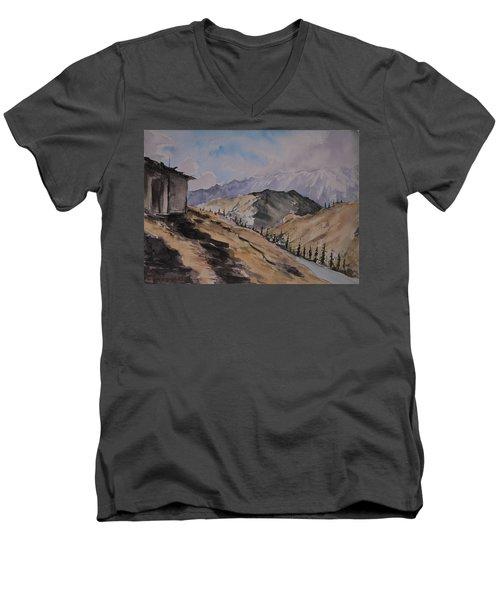 Manali Scene Men's V-Neck T-Shirt