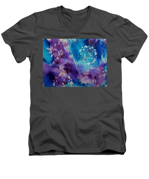 Mandala Abstract Men's V-Neck T-Shirt