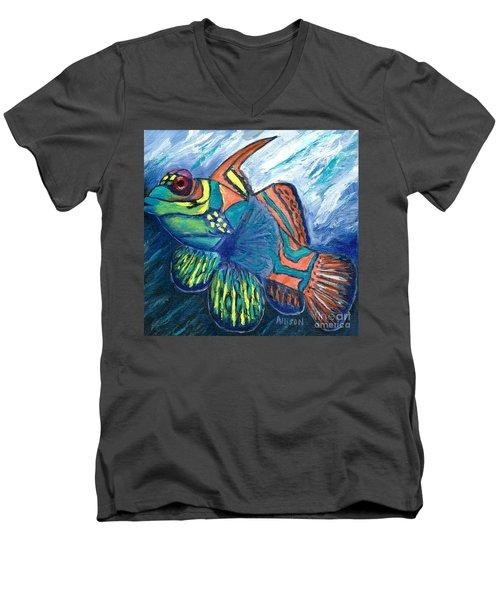 Mandarinfish Men's V-Neck T-Shirt
