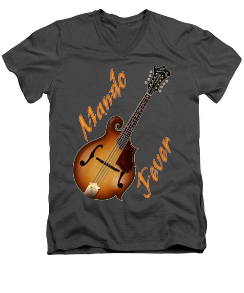 Mando Fever T Shirt Men's V-Neck T-Shirt