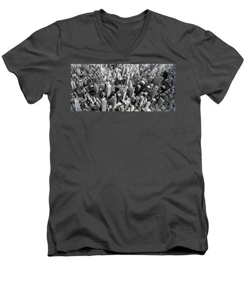 Manhattan  Men's V-Neck T-Shirt
