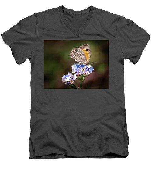 Maniola Telmessia Men's V-Neck T-Shirt