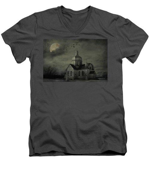 Mannerisms Of Midnight  Men's V-Neck T-Shirt