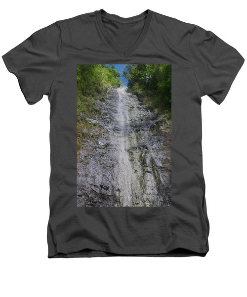 Manoa Falls Men's V-Neck T-Shirt