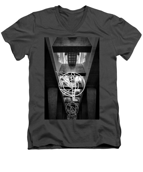 Man's Spheres Men's V-Neck T-Shirt