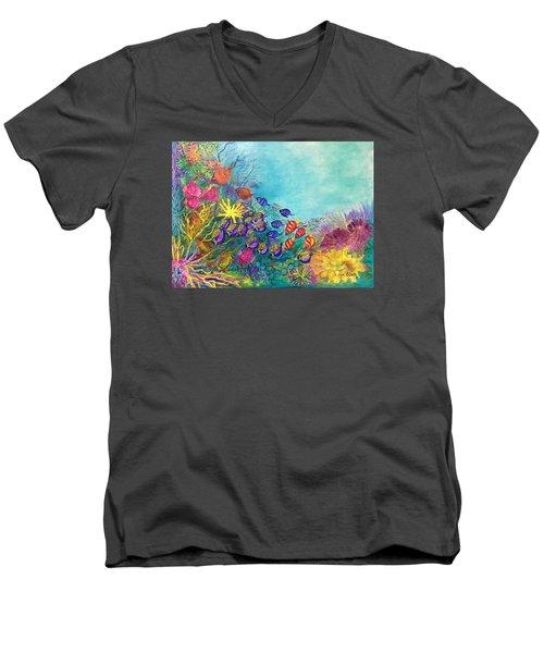 Many Colours Men's V-Neck T-Shirt