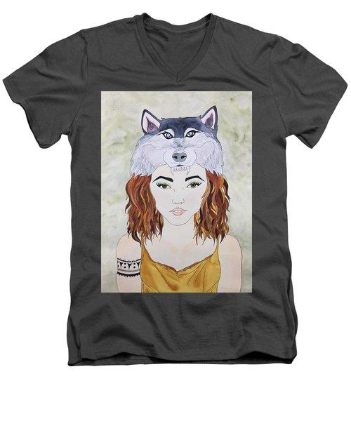 Many Women Men's V-Neck T-Shirt