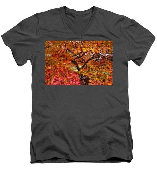 Maple Beauty Men's V-Neck T-Shirt