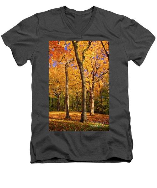 Maple Treo Men's V-Neck T-Shirt