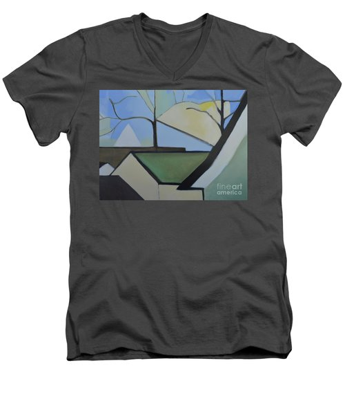 Maplewood Men's V-Neck T-Shirt